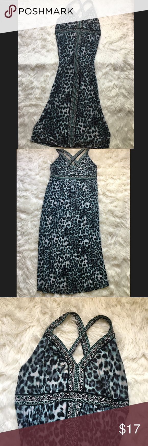 PLUS SIZE ANIMAL PRINT TRIBAL MAXI DRESS TORRID 💠VERY SOFT AND STRETCHY COMFORTABLE MAXI DRESS, WITH CUTE STRAPS! LIKE A TORRID BRAND! SIZE 2X. GENTLY USED! MAKE A BUNDLE WITH OTHER ITEMS TO SAVE BIG! MAKE OFFERS! CHECK OUT MY OTHER PLUS SIZE LISTINGS torrid Dresses Maxi