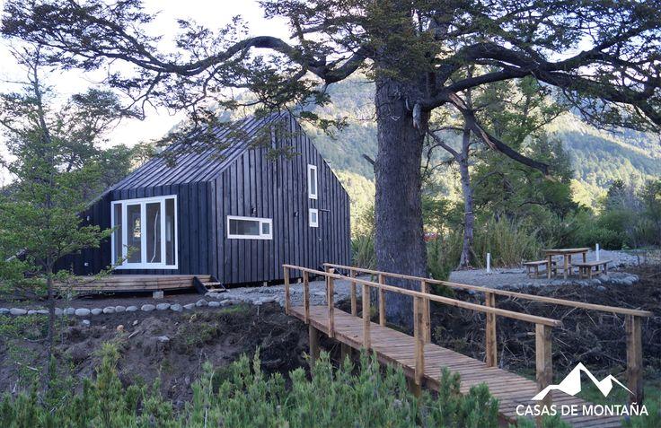 Refugio Sanchez, ubicado en el sectpr de Caracoles entre Malalcahuello y Corralco