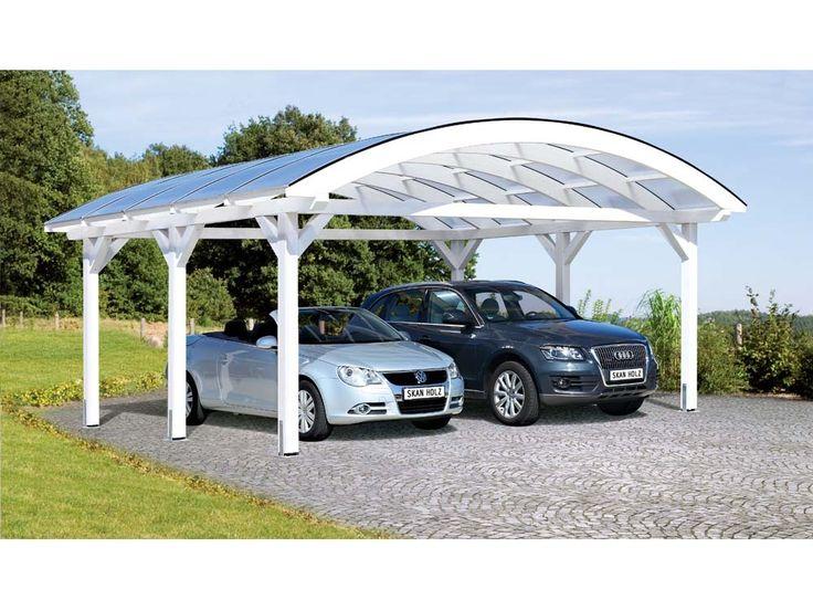 Carport voiture - 34.35 m² - 6.35 x 5.41 x 3.25 m 52397