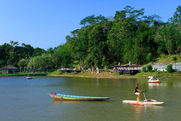 Waduk Panji Sukarame Keindahan Alam Berbeda di Kalimantan Timur - Kalimantan Timur