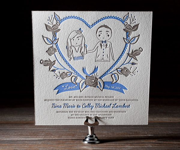 Cutest Whimsical Wedding Stationery from Bella Figura's 2012 Collection