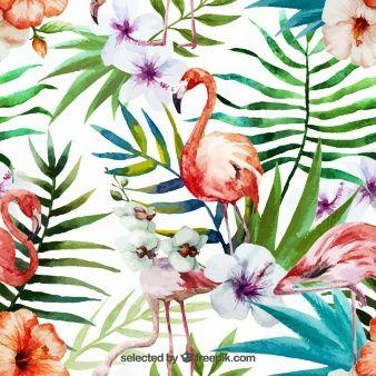 Mão natureza tropical pintado