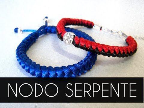 Nuovo tutorial di come realizzare un braccialetto con la tecnica del nodo serpente. Visita il mio negozio on-line: http://crystaldreams.es