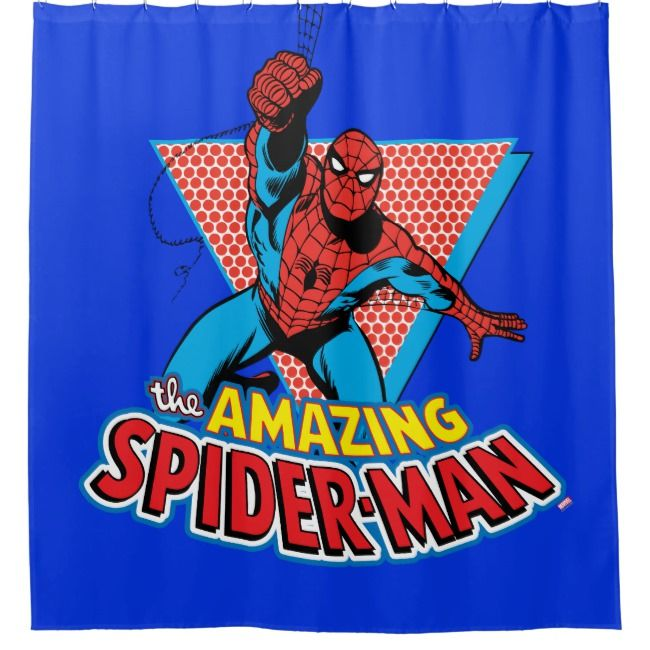 Create Your Own Shower Curtain Zazzle Com Amazing Spiderman