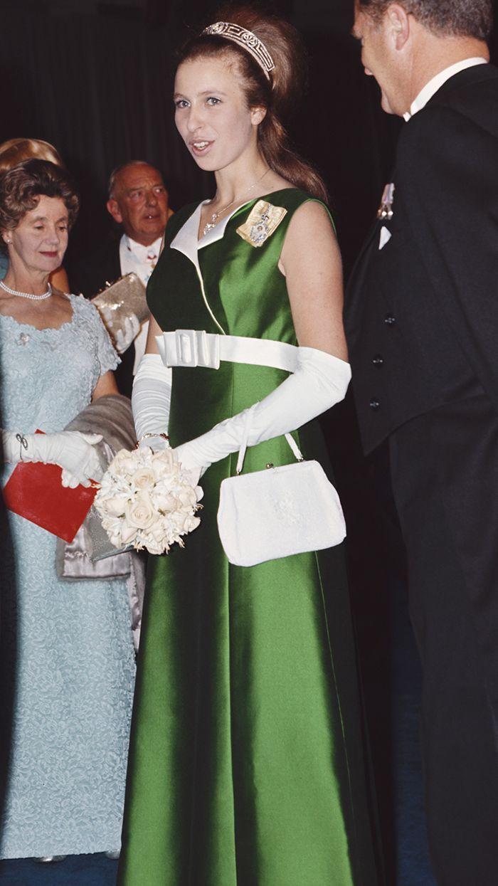 Royal Style Doesn T Get Better Than Princess Anne S Princess Anne Royal Fashion Queen Dress [ 1245 x 700 Pixel ]