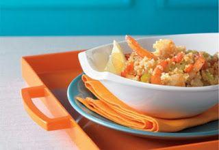 Se régaler avec thermomix : Couscous de crevettes et sa bisque