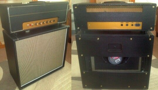 Hand built, hand wired amp and cab