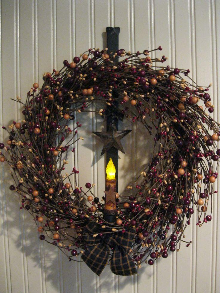 Primitive Country Wreath