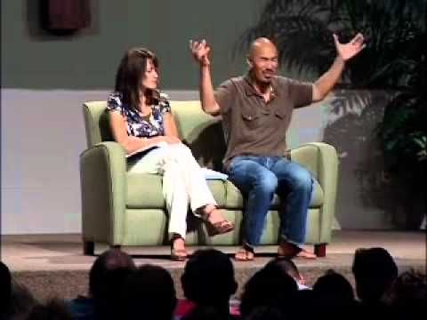 Francis Chan and his wife speak about Christ-Centered Relationships. Part 1  This is really good