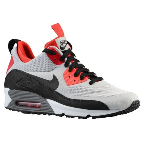 Nike Air Max 90 Mid No Sew - Men's - Running - Shoes - Newsprint/