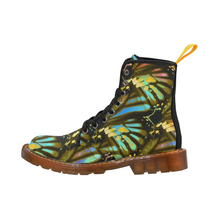 Butterfly Tiger Martin Boots For Women Model 1203H.