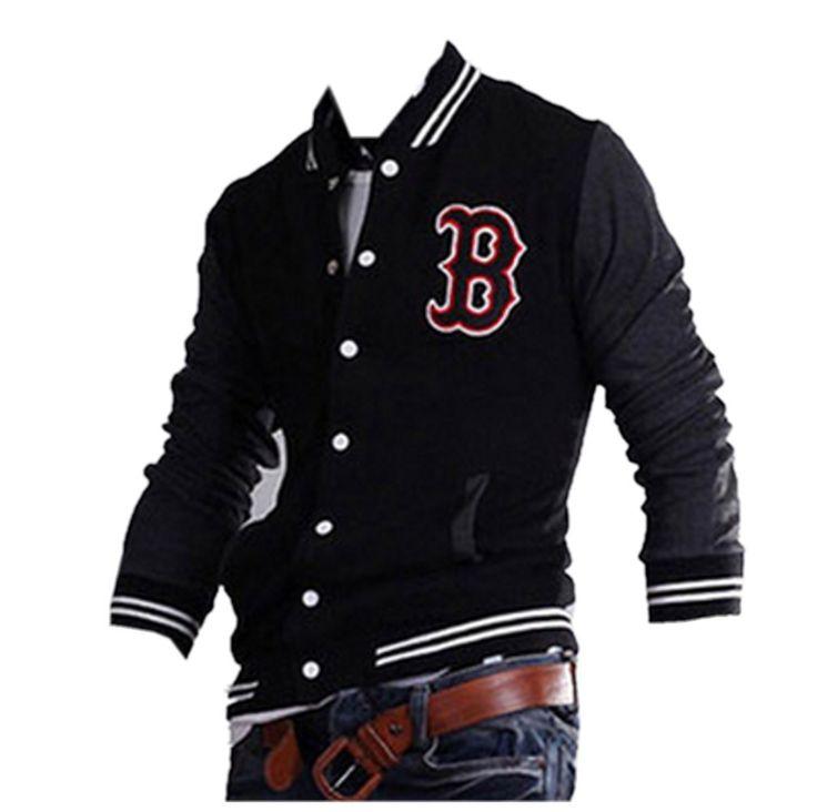 QualityUC Mens American Clothes Fashion 60s Style Baseball Jacket