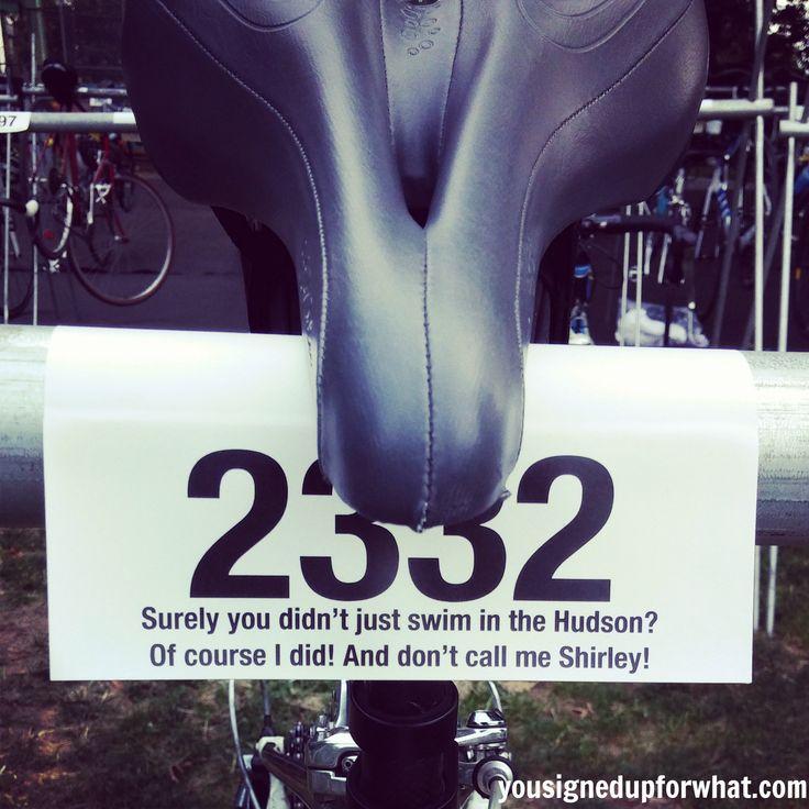 Bike Rack NYC Triathlon