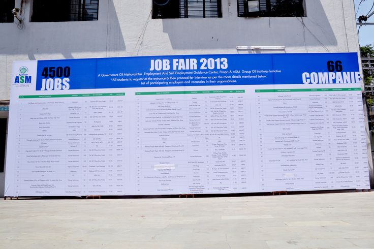 Job Fair by ASM Group of Institutes held at ASM's IBMR campus on 30th September 2013
