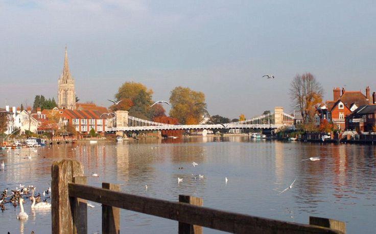 Marlow. Nearest major city: London - 21 miles. Population: 14000. Number of millionaires: 350-400.