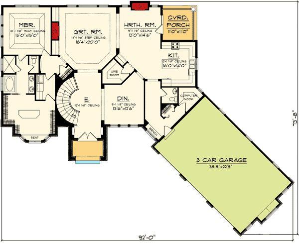 Plan 89856AH: Ranch Home Plan with Walkout Basement