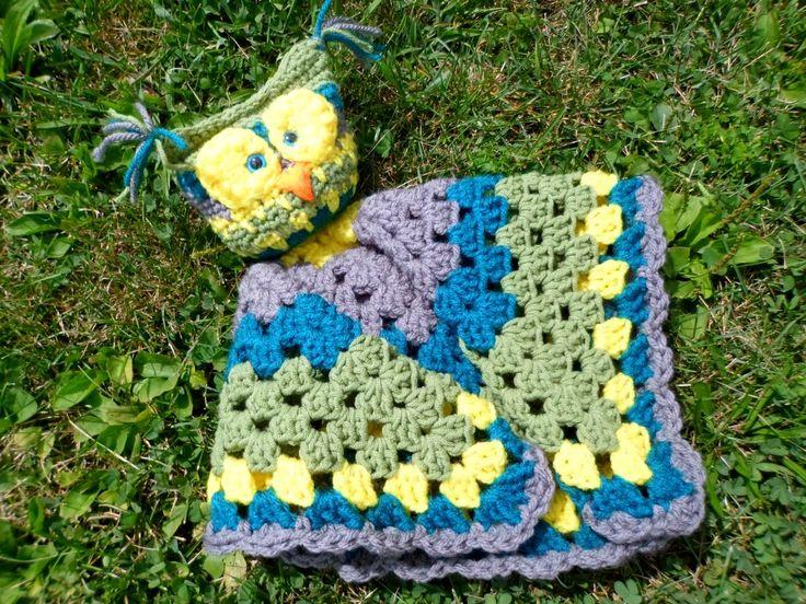 Free Owl Lovey Pattern