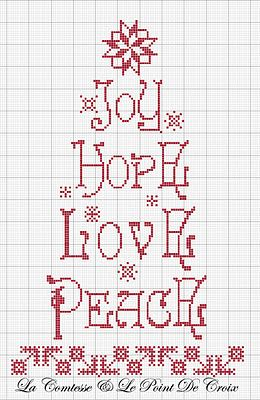 Cross Stitch *<3* Point de croix Christmas