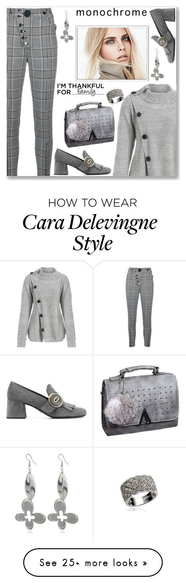 """Celebrity Cara Delevingne  Street Style"" by jecakns on Polyvore featuring Alexander Wang, Prada and Burberry"