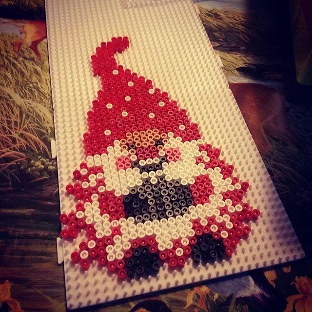 Nisse Christmas hama beads by ladykragh