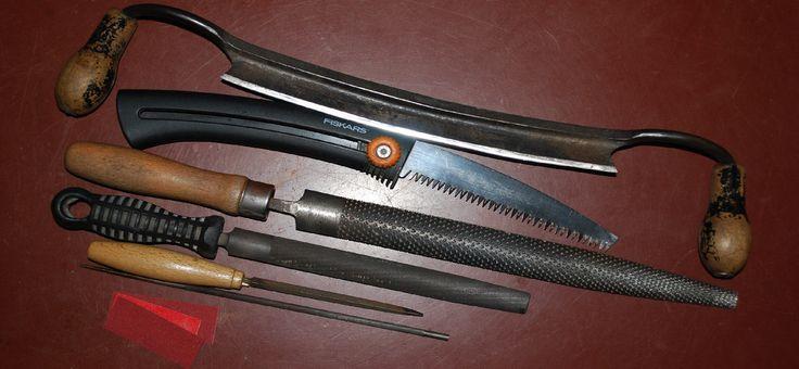 nástroje na opracovanie dreva