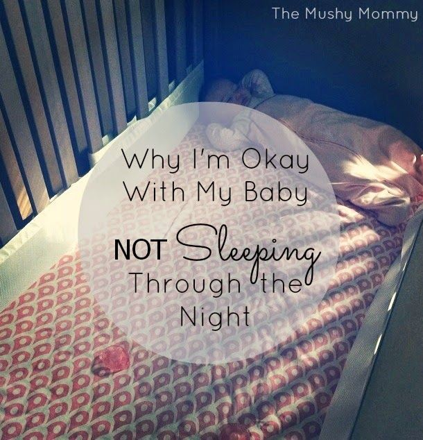 Why I'm Okay With My Baby Not Sleeping Through the Night