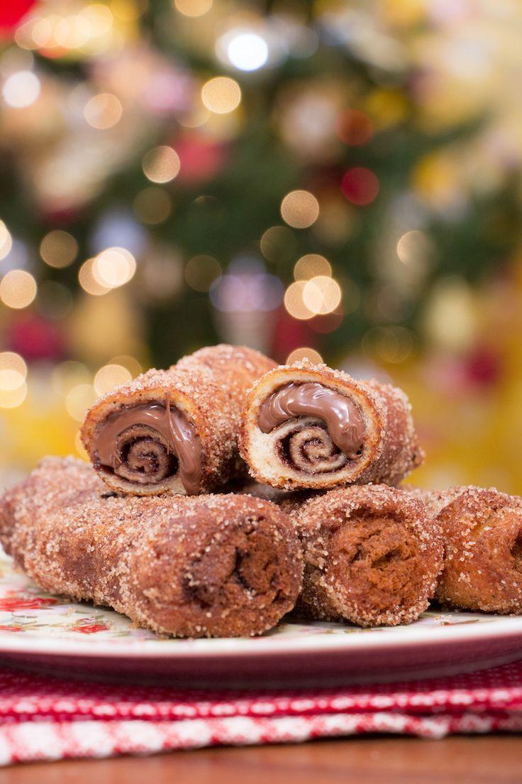 Rabanada de Nutella | Vídeos e Receitas de Sobremesas