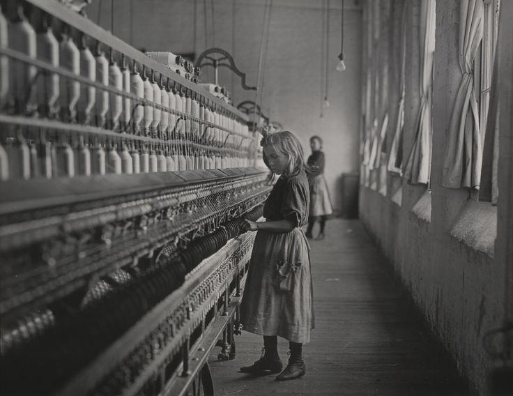 Lewis W. Hine. Sadie Pfeifer, a Cotton Mill Spinner, Lancaster, South Carolina. 1908