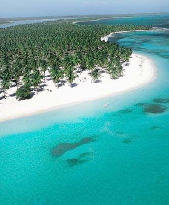 Saona island ... Bayahibe (near La Romana) in Dominican Republic So beautiful. Take a catamaran out and return in speed boat! Very fun!
