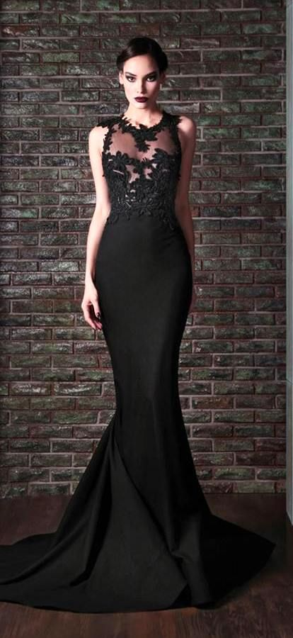 Rami kadi 2014 wow dream gowns pinterest for Pictures of black wedding dresses