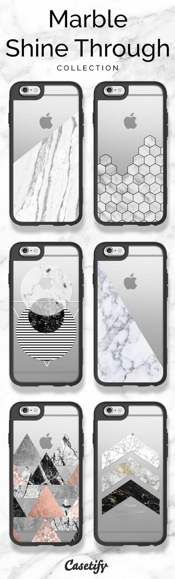 Top 6 Marble iPhone 6 protective phone cases | Click through to shop these iPhone phone case ideas >>> https://www.casetify.com/artworks/0J2Fqqqc2W | @casetify
