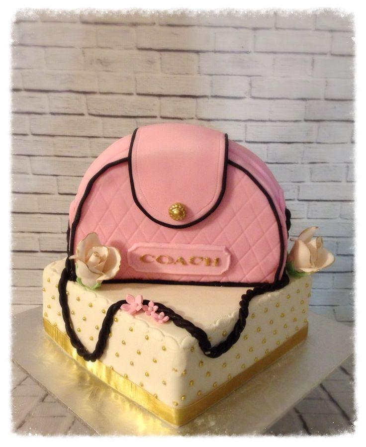 Coach Bag Baby Shower Cakes Wedding Coachfactory