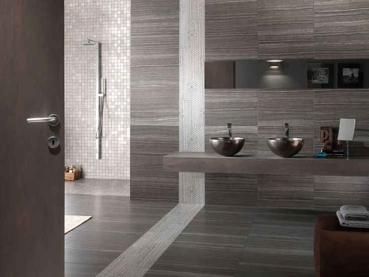 Eramosa Grey 12x24 Vein Cut Italian Porcelain Tile  3 69  Modern Bathroom   12 best Porcelain Tile Floors images on Pinterest   Tile flooring  . Modern Bathroom Floor Tile. Home Design Ideas