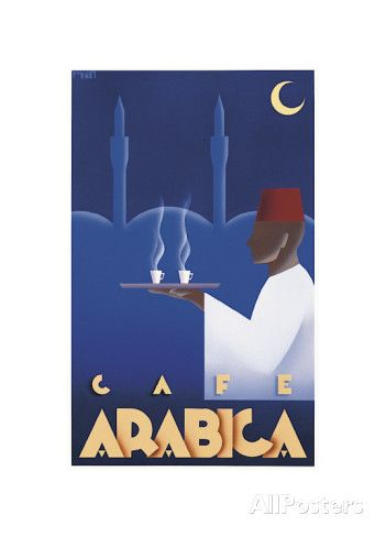 Café Arabica Giclee Print by Steve Forney at AllPosters.com
