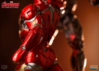 Estatua armadura Iron Man Mark XLV de 60 cm. Los Vengadores: la era de Ultrón. Escala 1:6. Iron Studios. Marvel Cómics Foto 1