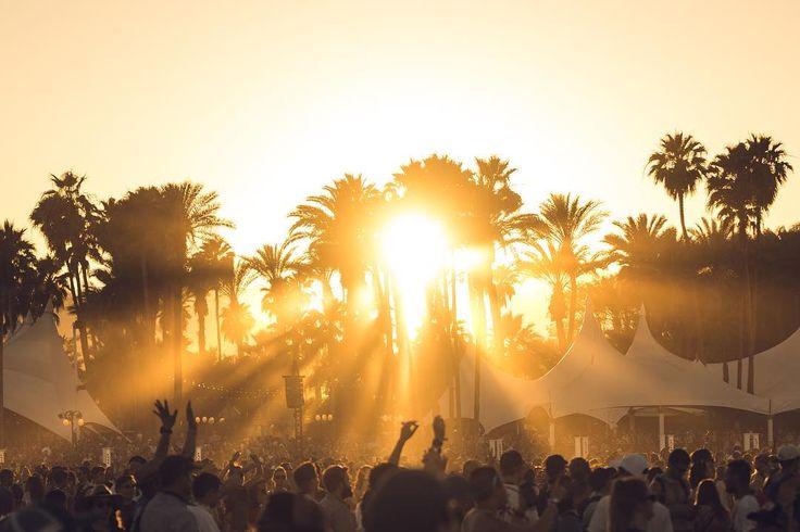 Light it up. Coachella Weekend 1, 2016.