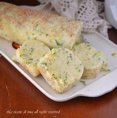 Polpettone freddo zucchine e patate