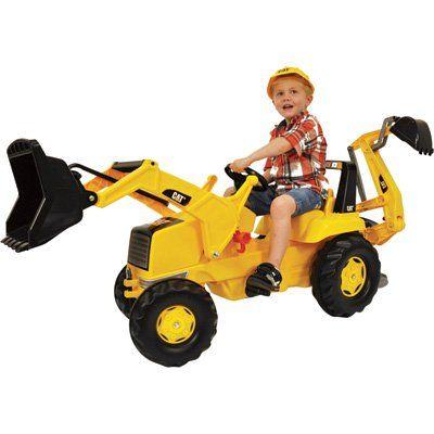 Kettler CAT Backhoe Pedal Tractor, Model# 813001