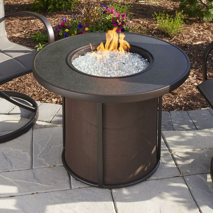 """Outdoor Great Room SF32K Stonefire 32"""" Gas Fire Pit"""