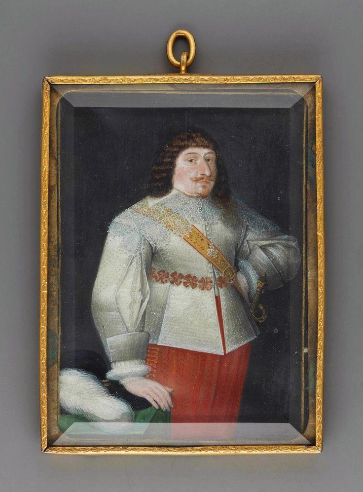 Miniature of Prince Ladislaus Vasa by Anonymous, 1630, Muzeum Narodowe w Warszawie (MNW)
