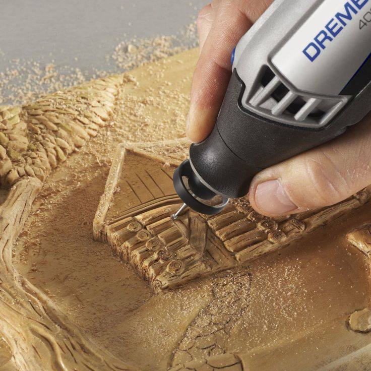 The Dremel 490 Dust Blower offers an innovative solution for improving visibility when using a Dremel rotary tool because it removes fine debris from your line-of-sight. It's great for detailed projects, sanding, engraving and carving, and it can also be used on the 225-01 Flex Shaft attachment. The Dust Blower accessory fits all Dremel rotary tools using the standard collet nut except the Dremel 4200. Re-fit your existing Dremel rotary tool with the Dremel Dust Blower to see your work be...