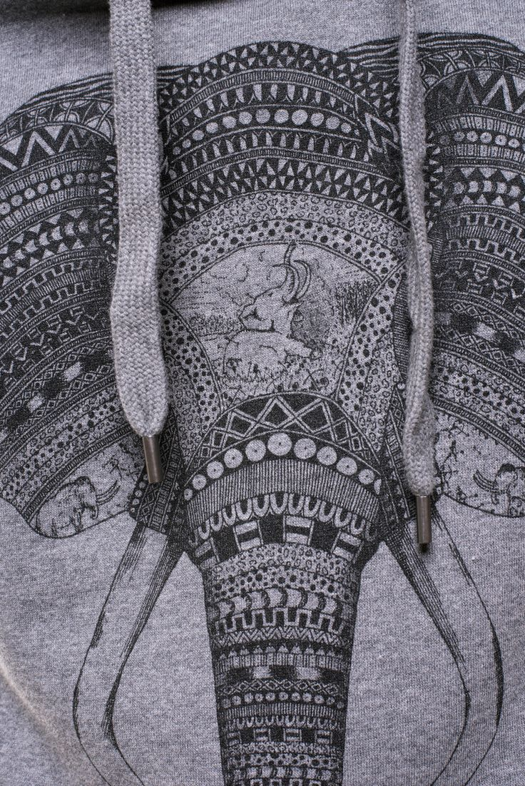 An Elephant Never Forgets Grey Sweatshirt - Illustrate Your World!