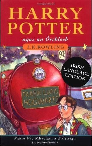 Harry Potter Irish language edition    Gaeilge gach lá