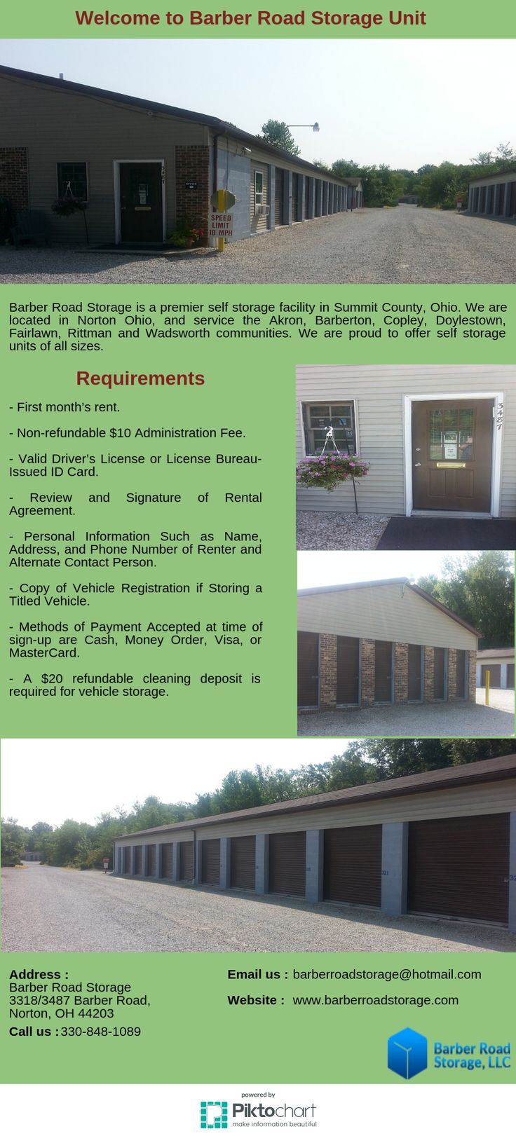 Barber Road Storage is a premier self storage facility in Summit County Ohio. We & 8 best Barber Road Self Storage In Norton Ohio images on Pinterest