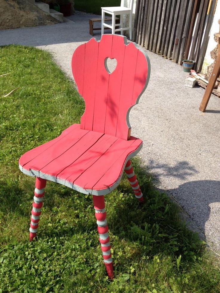 Neues Gewand für alten Stuhl