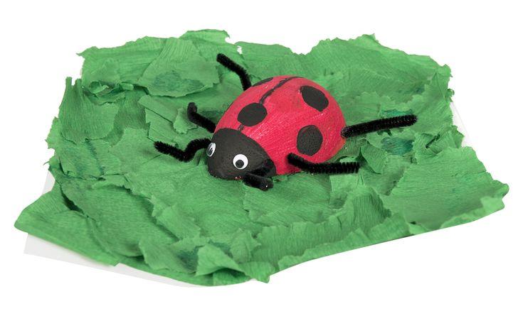 Vyrábění pro děti beruška / DIY Ladybird