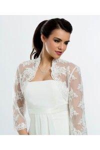 bolero-en-dentelle-mariage-accessoires-de-la-mariee-etole-ceremonie - Accessoires du Mariage