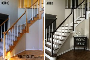 Best How To Gel Stain *Gly Oak Banisters Without Sanding 640 x 480