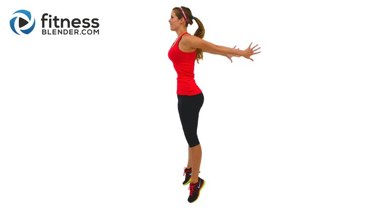 Fat Burning HIIT Cardio Workout - High Intensity Interval Training with Warm Up & Cool Down - Fitness Blender