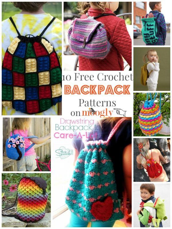 Back Up for Free Crochet Backpack Patterns!